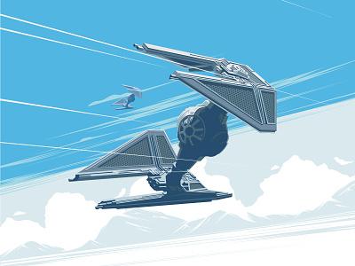 Tie Fighter ! the darkside the empire fanart aircraft space spaceship tie fighter starwars
