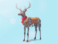 Robot Reindeer !