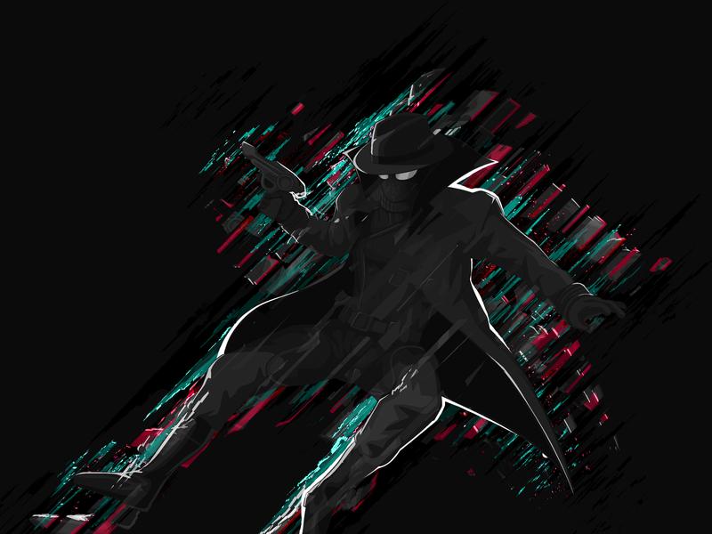 Spider Man - Noir hero superhero spider art fanart spiderman spidy