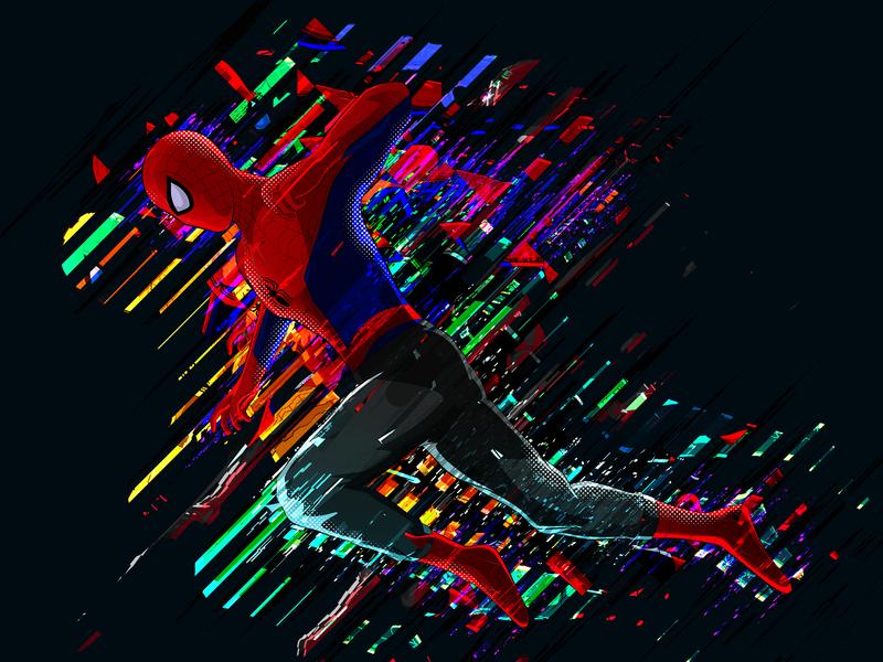 Peter Parker - Spider Man peter parker marvel avenger fanart hero superhero spider spiderman