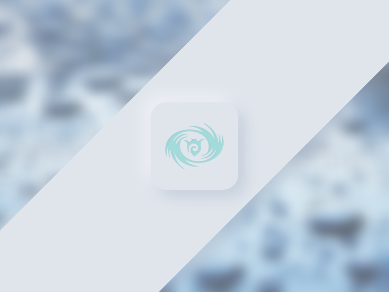 Tried to combine Neumorphism and a glass effect minimal glass effect neumorphism