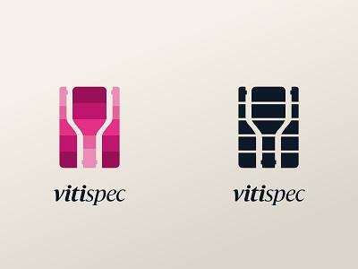 VitiSpec 2010 icon design branding logo brand