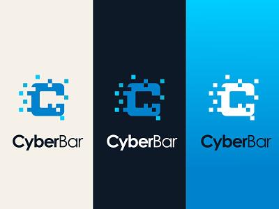 CyberBar 2011 icon design branding logo brand