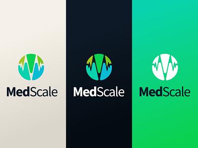 MedScale 2012 icon design branding logo brand