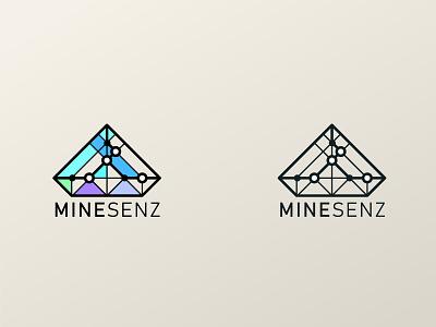 Minesenz 2020 icon design branding logo brand