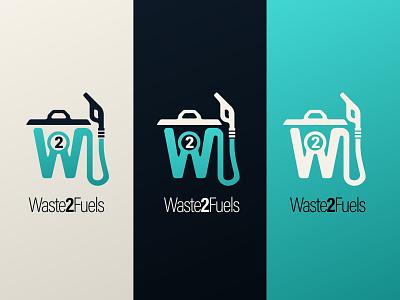 Waste 2 Fuels 2014 icon design branding logo brand