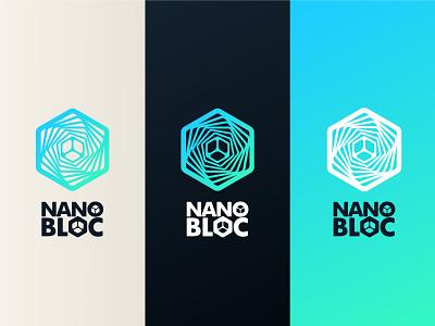 NanoBloc 2021 icon design branding logo brand