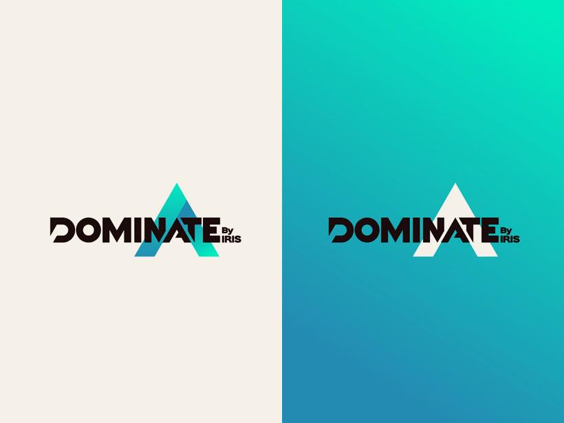 Logo Dominate logo branding brand