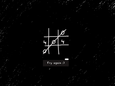 Try again ;) page design ui simple design graphic daily 404 error 404page weekly warm-up