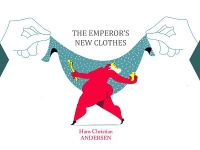 The Emperor's New Clothes :) color illustrator man flat illustration drawing bookillustration bookcover illustration