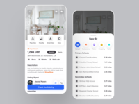 Real Estate - Mobile App lifestyle dribbble covid-19 ios14 hotel house rental rental app home app apartment property finder property search real estate agent real estate agency realestateagent real estate realestate social app booking app mobile app