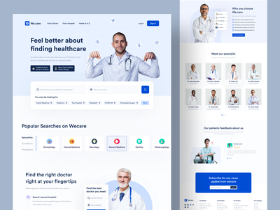 Medical Website Landing Page Redesign pharmacy website landing page telemedicine nasim uiux web doctors medical care conssultant clinic medicine biotech consultation doctor webapp website landing page mental health healthcare hospital medical website landing page