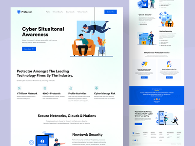 Cyber Security platform landing page security security patch secure saas landingpage website landingpage design hiring cybersecurity landingpage kit cyberattack privacy company data security social media security internet security uiux design webdesign website landingpage vpn cybersecurity