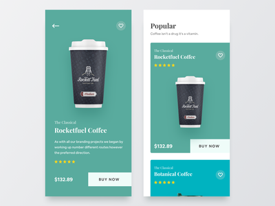 Product Page ios 12 ios typography shop app ecommerce ecommerce app coffee coffee app app ui ux mobile app product ios app
