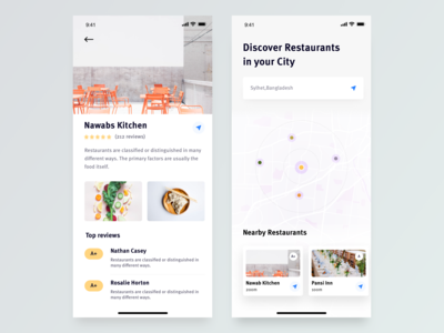 Restaurant Finder App