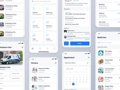 Healthcare App Design Concept