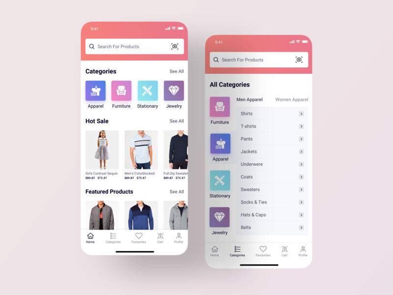 E-commerce App e-commerce app finacial social media social app men fashion card bussiness fashion app shop shopping app ecommerce app ecommerce mobile app ios app android app design ux ui product