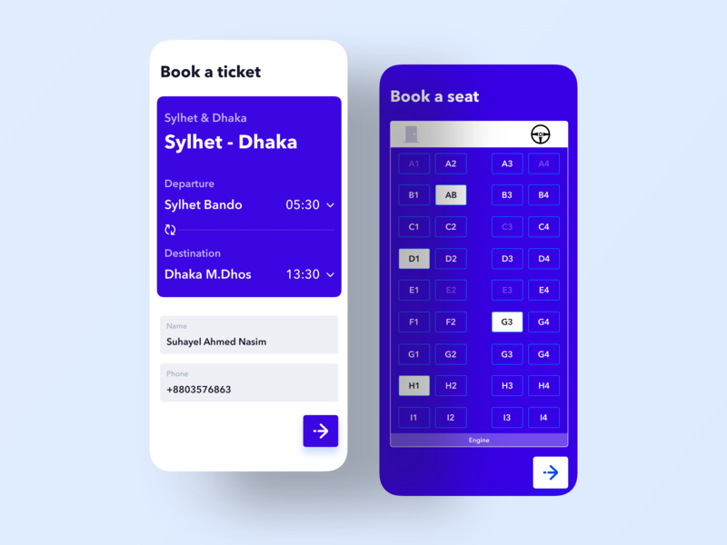 Ticket Booking App product mobile app template bus ticket booking behance project casestudy card social app booking app flight ticket flight app travel ios app design ios mobile app ticket booking ticket app ticket