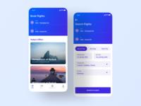 Flight Booking App - Behance Case Study