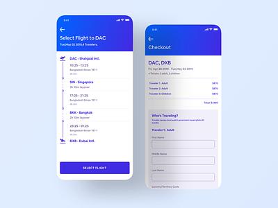 Flight Booking App - Behance Case Study checkout financial app start up flight booking flight booking app food app flight app card social app travel app mobile app app design ios app ux ui product
