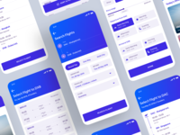 Flight Booking App - Behance Case Study