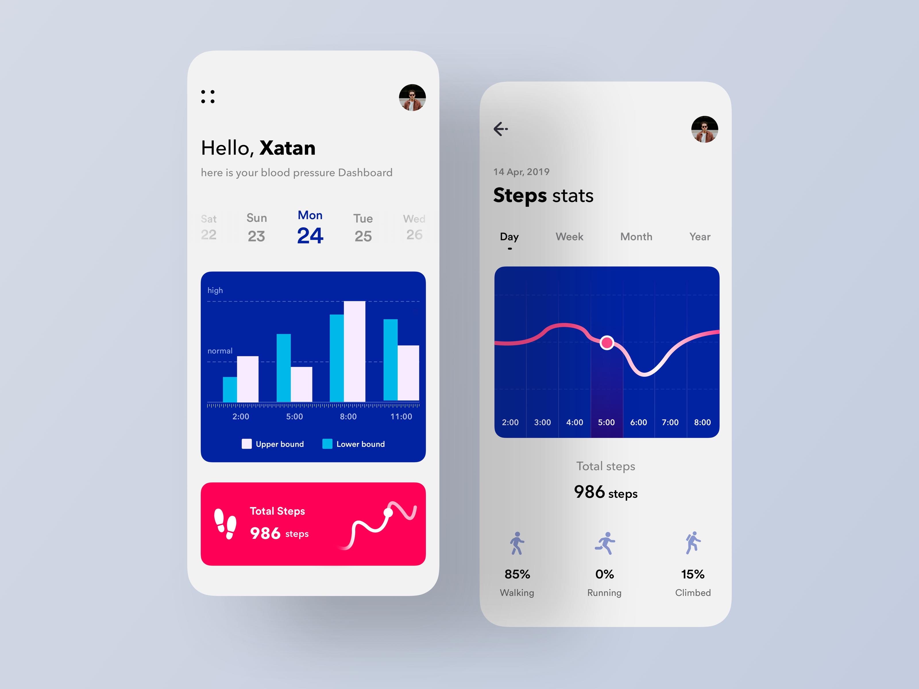 Health treacker app by nasim 2 2x