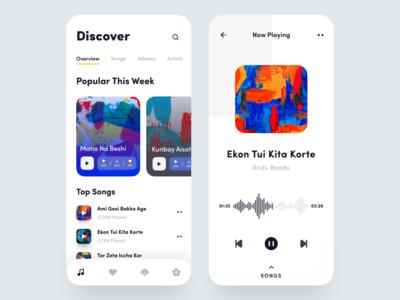 Music Player Mobile App