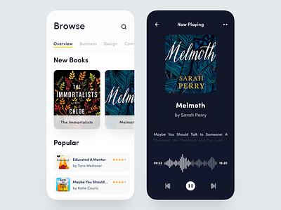 Books Mobile App reader reading app app product booking app podcast app podcast social social app music app mobile app audiobook book app book cover books book audio player audio app audiobooks