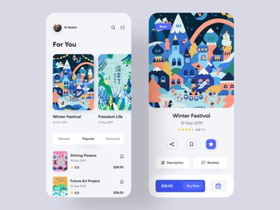 Magazine Store Mobile App