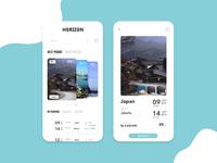 Horizon - Travel App