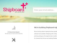 Shipboard.