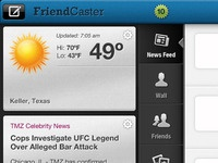 FriendCaster for iPad, version 2