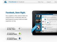 FriendCaster Landing Page, Revisited