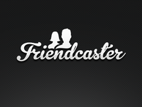 Friendcaster Logo (now with people!)