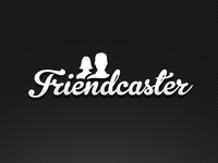 Friendcaster Logo, Subtle Size Change