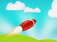Rocket on Paper