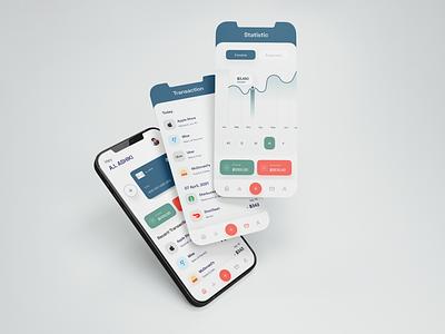 Finance : Mobile app bank bank card banking bank app banking app trandy 2021 clean ui mobile app popular design financial financial app fintech fintech app finance app mobile app design mobile ui mobile finance
