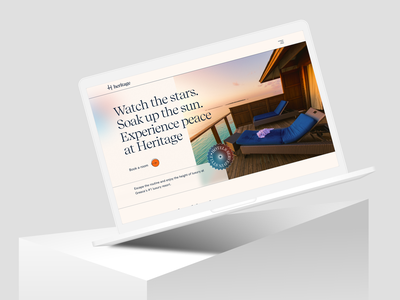Hotel Booking Web Exploration minimal concept redesign homepage agency website landing page design website web design trip room booking restaurants explore exploration resort hotel hotel booking travel booking app booking agency