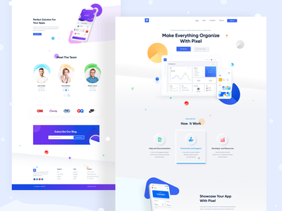 App Landing Page Design  2.0 color concept redesign landing website design uiux ui creative design typogaphy clean design landing page website creative website concept minimal uidesign landing page ui landingpage landing page design 2019 trends