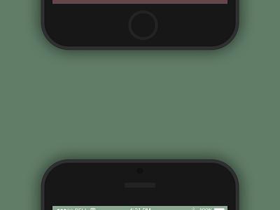 GIF for the Weather App ui ux gif animation interface flat ios8 iphone6 appdesign studio ukraine