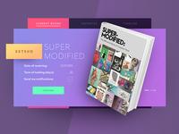 Library Widget creative agency material design minimal ukraine flat webdesign web product design ux ui