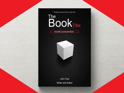 Book Cover resume flyer poster business card startup blogger vlogger red branding logodesign graphicdesign