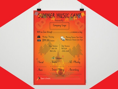 Poster resume flyer poster business card startup blogger vlogger red branding logodesign graphicdesign