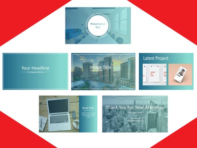 Power Point Layout layout resume flyer poster business card startup blogger vlogger red branding logodesign graphicdesign