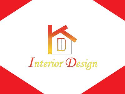 Logo Design flyer poster business card startup blogger vlogger red branding logodesign graphicdesign