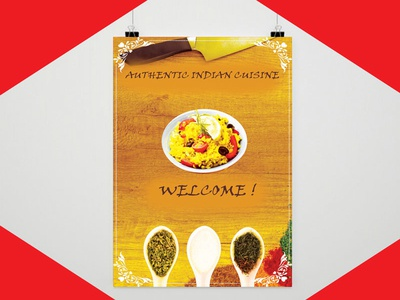 Menu Design layout resume flyer poster business card startup blogger vlogger red branding logodesign graphicdesign