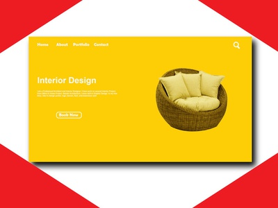 Website Design resume flyer poster business card startup blogger vlogger red branding logodesign graphicdesign