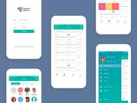 Radian System iOS app UI/UX design