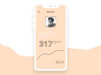 UI Concept: Social Media statistics
