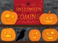 Beware of the pumpkins